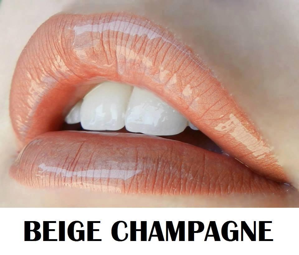 Beige Champagne lips