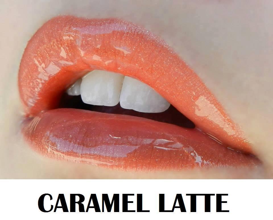 Caramel latte lips