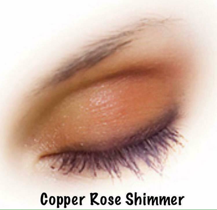 copper rose shimmer