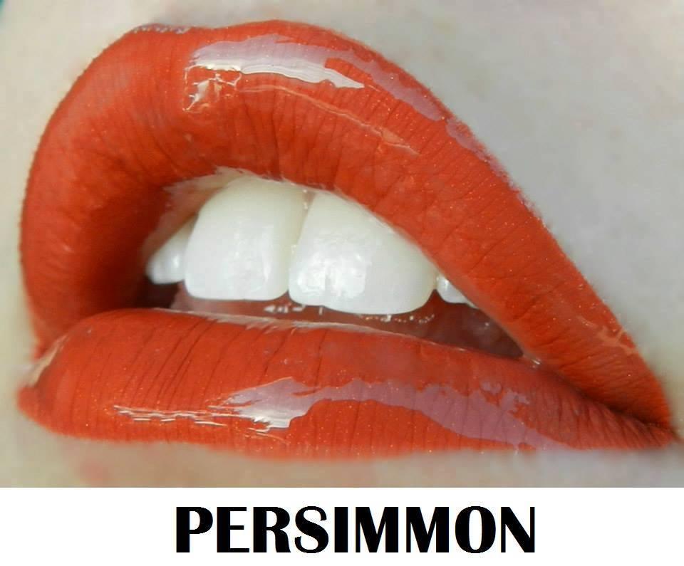 Persimmon lips