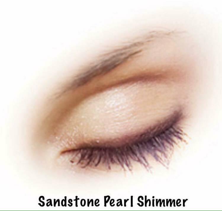 sandstone pearl shimmer