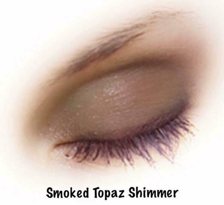 smoked topaz shimmer