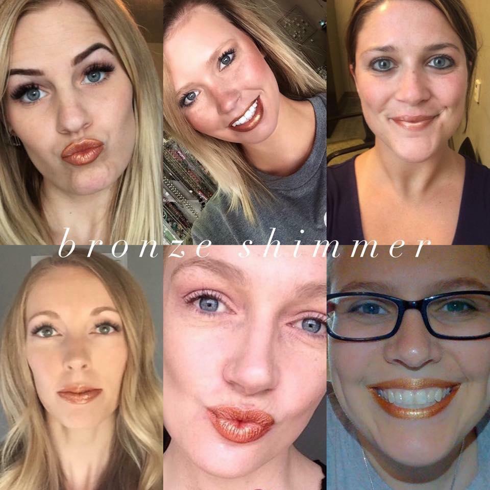 bronze-shimmer-collage