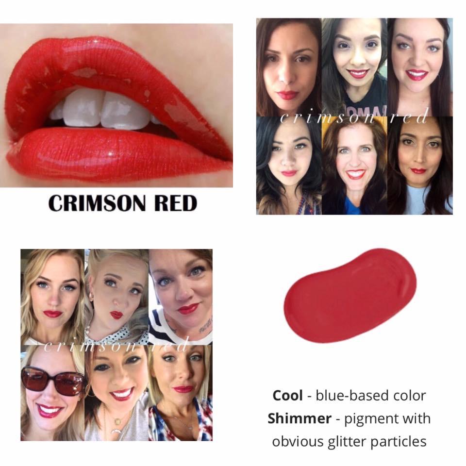 crimson-red