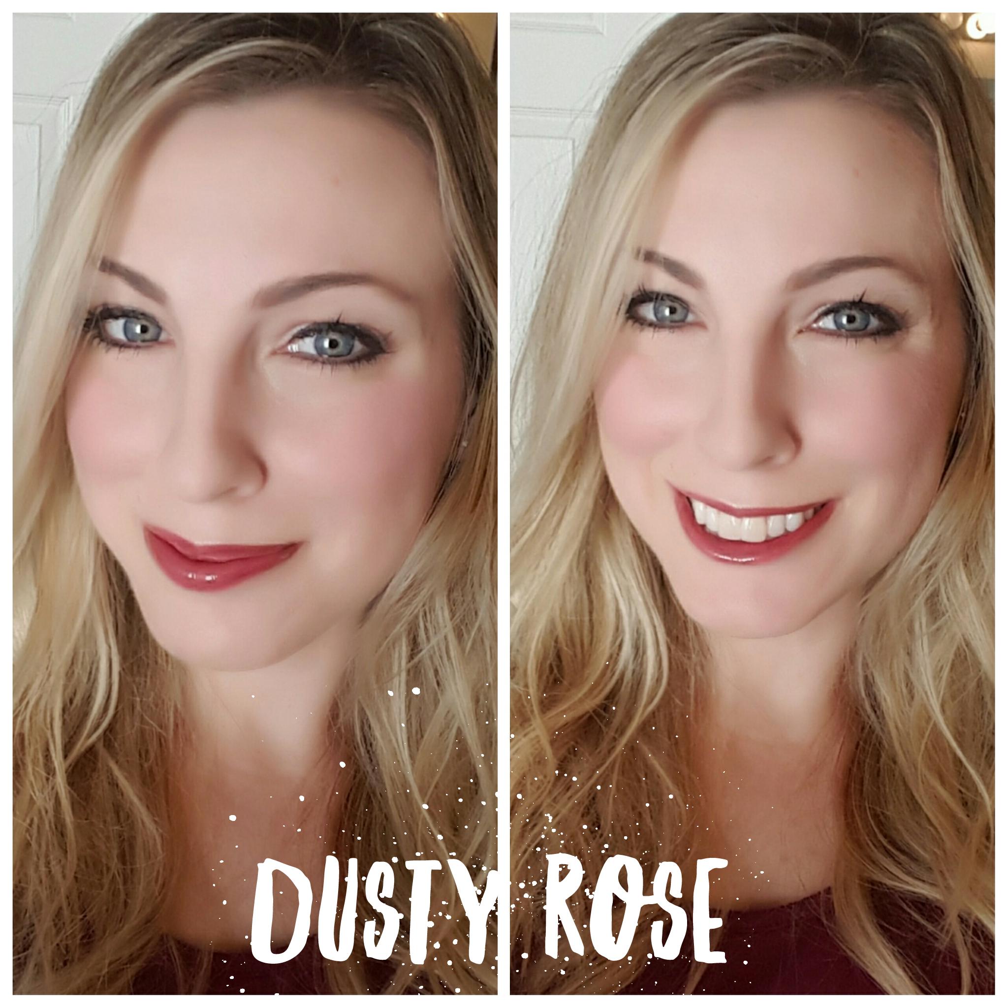 dusty-rose-selfie