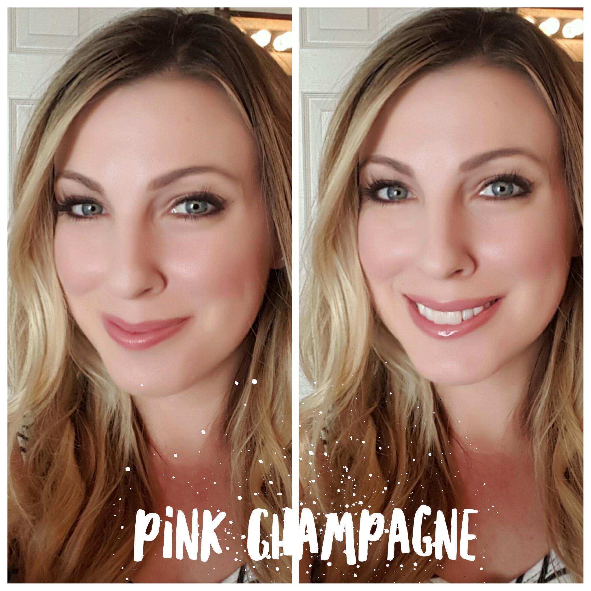 pink-champagne-selfie