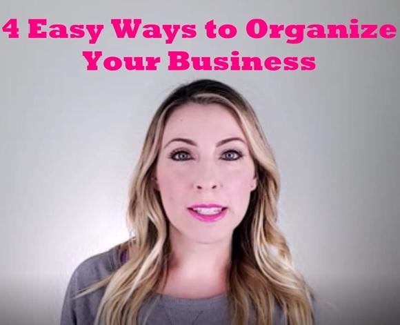 4 Easy Ways to Organize Your Business LipSense Distributor