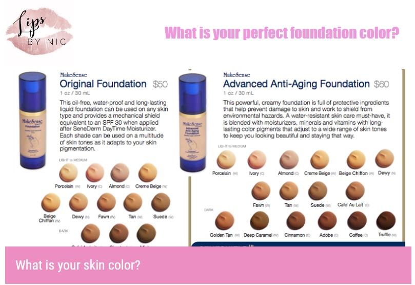Foundation Color Quiz