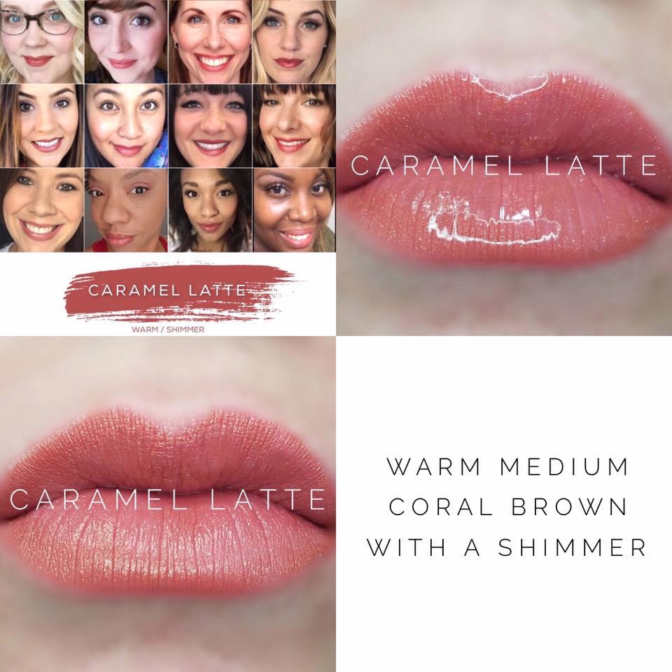 Caramel Latte LipSense 2 looks