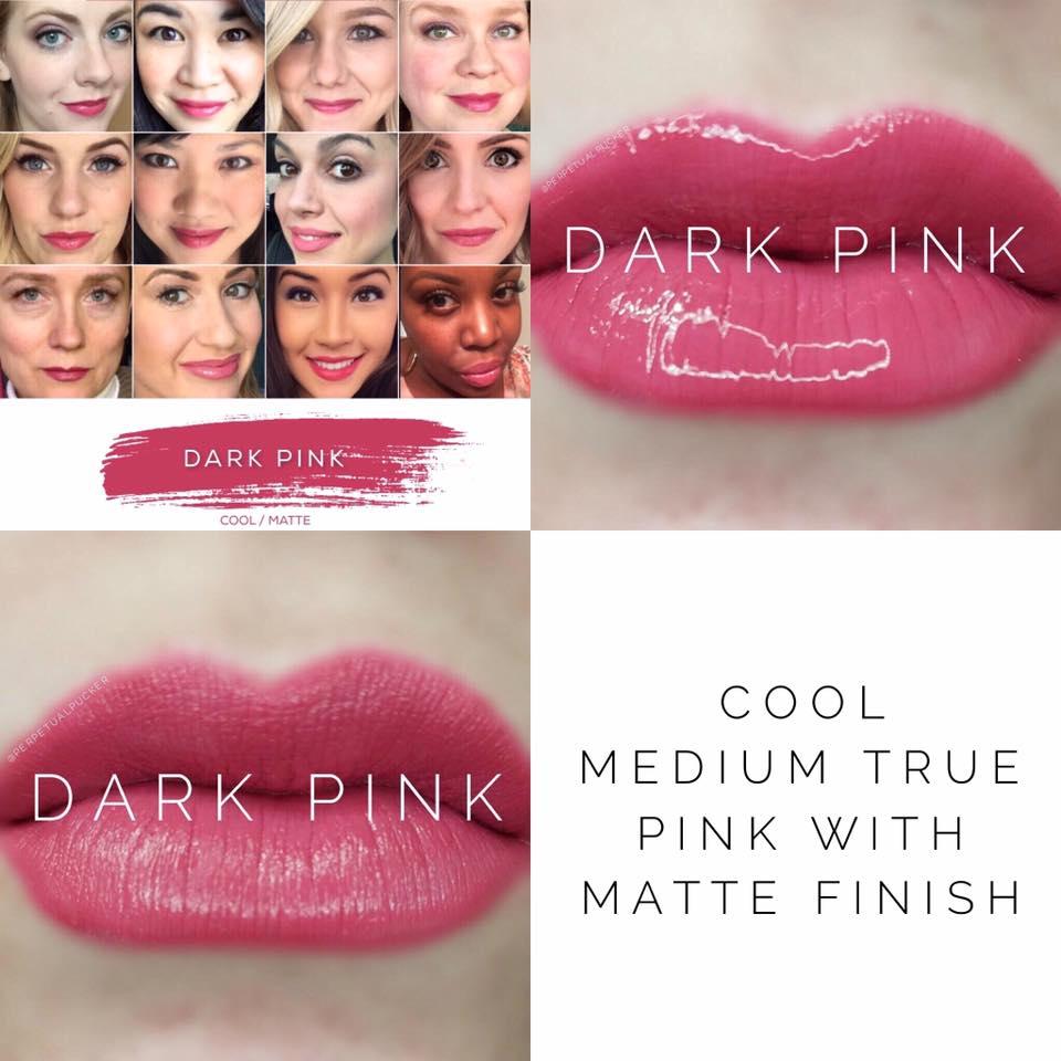 Dark Pink LipSense 2 looks