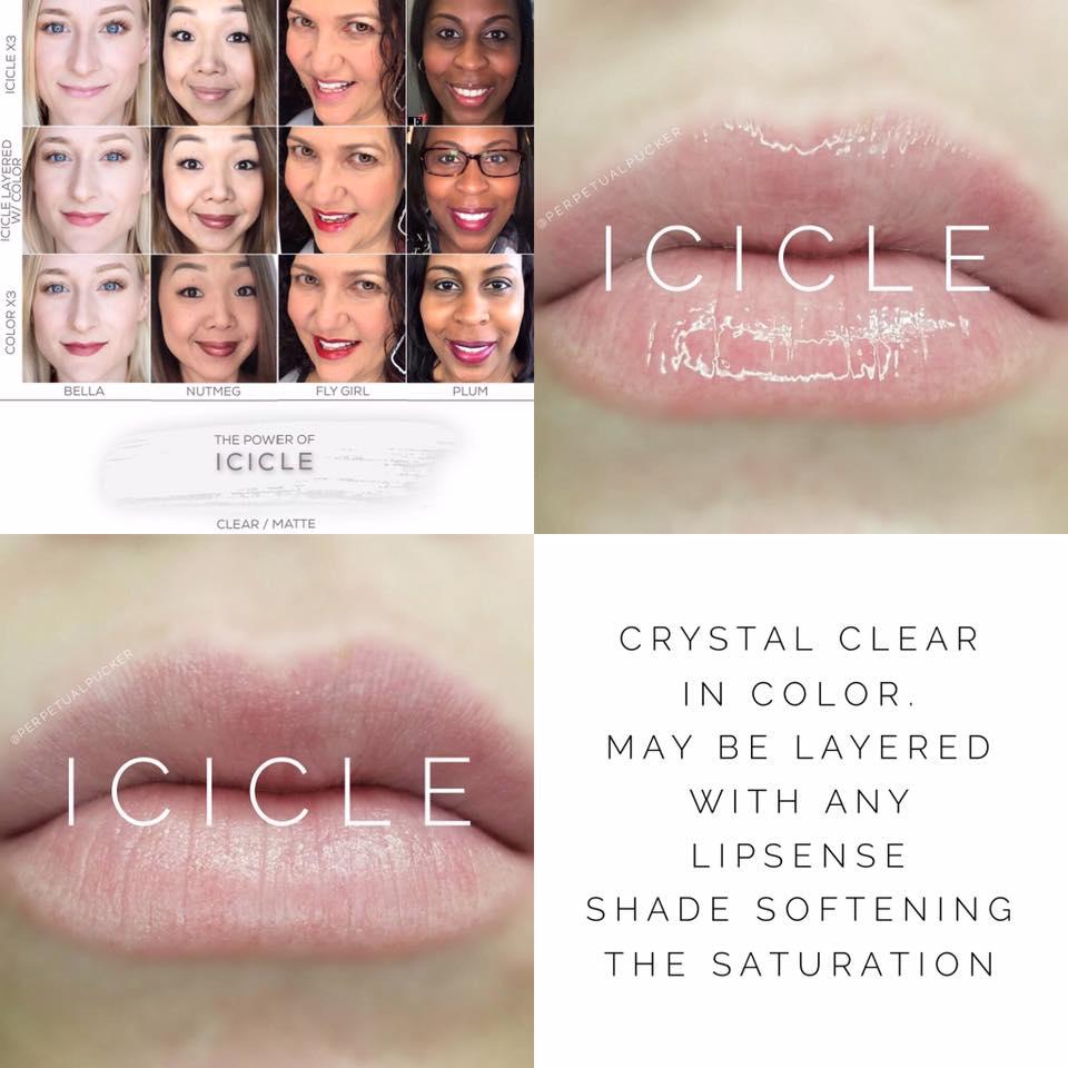 Icicle LipSense 2 looks