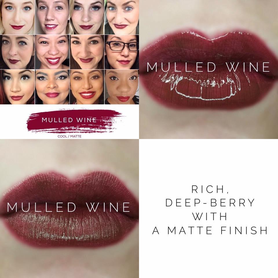 Mulled Wine LipSense 2 looks