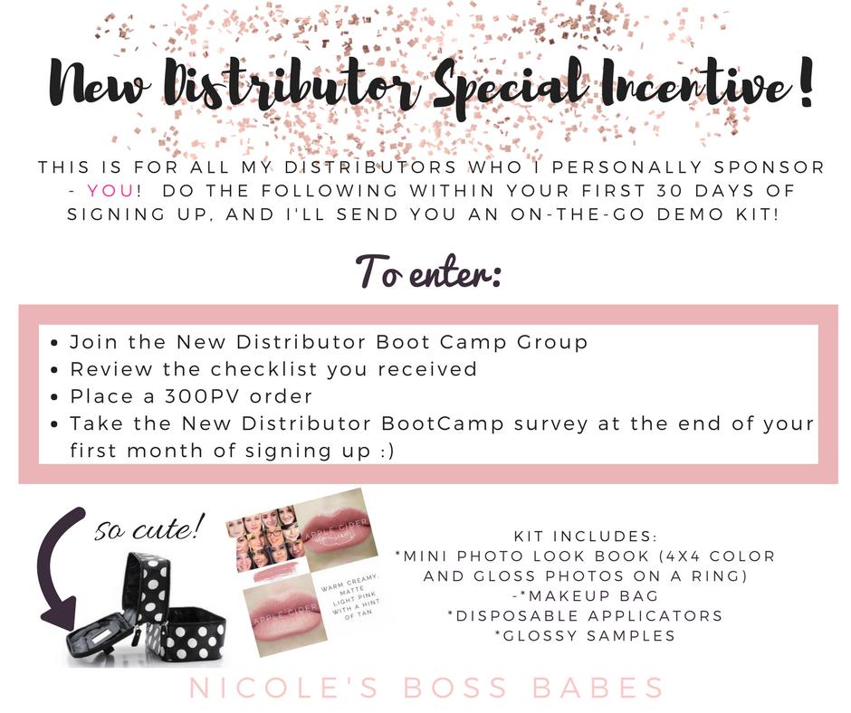 New-LipSense-Distributor-Special-Incentive!