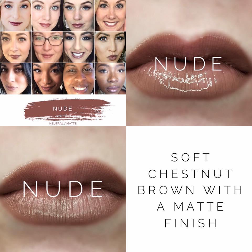 Nude LipSense 2 looks