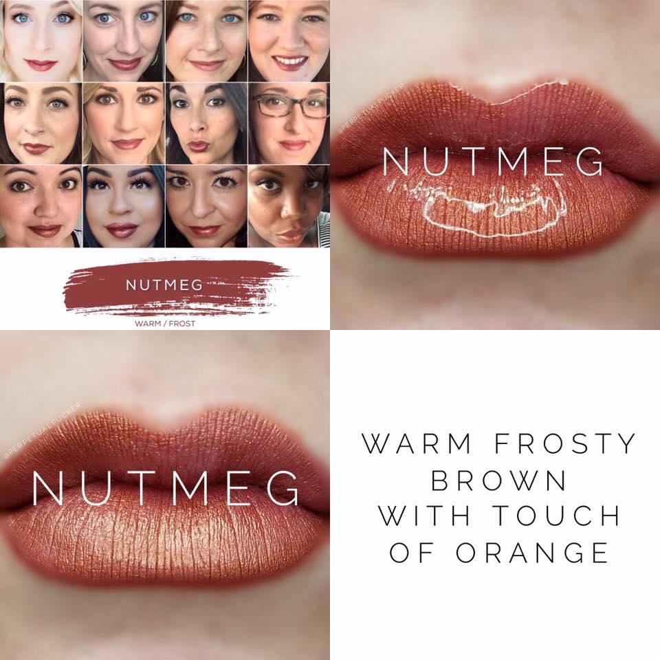 Nutmeg LipSense 2 looks