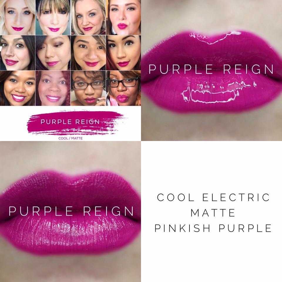 Purple Reign LipSense 2 looks